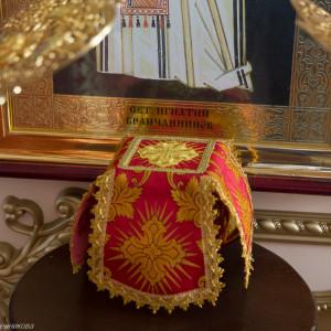 Освящение храма в Орловке митрополитом Омским и Таврическим Владимиром (26 из 55)