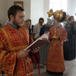 Освящение храма в Орловке митрополитом Омским и Таврическим Владимиром (39 из 55)
