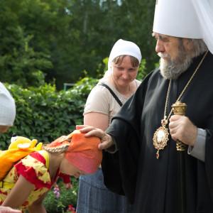 Освящение храма в Орловке митрополитом Омским и Таврическим Владимиром (4 из 55)