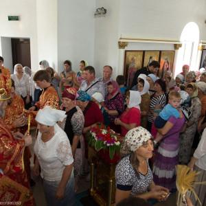 Освящение храма в Орловке митрополитом Омским и Таврическим Владимиром (53 из 55)
