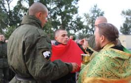 Чин обедницы состоялся для военнослужащих 12 учебного центра войск национальной гвардии