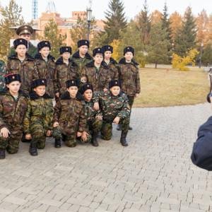 20171018 001 Торжественное Обещание Кадета Казачьего Войска Собор Успения Омск IMG_4710