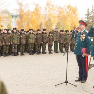 20171018 005 Торжественное Обещание Кадета Казачьего Войска Собор Успения Омск IMG_4741