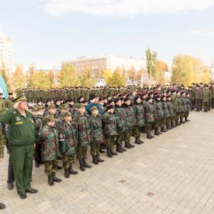 20171018 006 Торжественное Обещание Кадета Казачьего Войска Собор Успения Омск IMG_4745