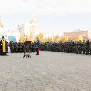 20171018 017 Торжественное Обещание Кадета Казачьего Войска Собор Успения Омск IMG_4774