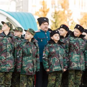 20171018 021 Торжественное Обещание Кадета Казачьего Войска Собор Успения Омск IMG_4789