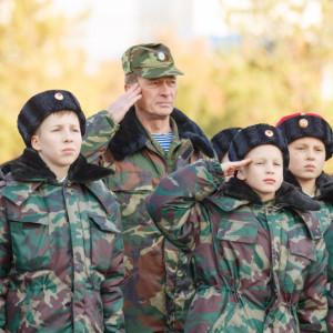 20171018 023 Торжественное Обещание Кадета Казачьего Войска Собор Успения Омск IMG_4792
