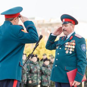 20171018 024 Торжественное Обещание Кадета Казачьего Войска Собор Успения Омск IMG_4793