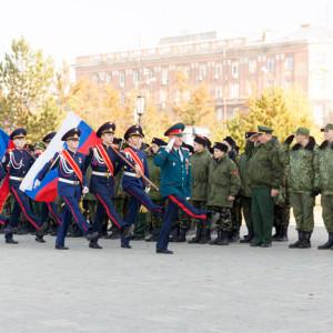 20171018 032 Торжественное Обещание Кадета Казачьего Войска Собор Успения Омск IMG_4825