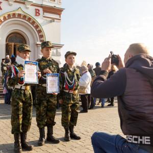 20171018 037 Торжественное Обещание Кадета Казачьего Войска Собор Успения Омск IMG_4862
