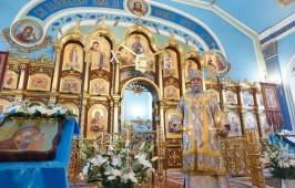 Храм иконы Божией Матери «Всех скорбящих Радость» отметил вместе с архипастырем свой престольный праздник