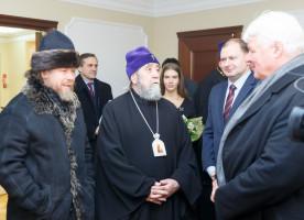 Преосвященнейший Тихон (Шевкунов) прибыл в Омск на открытие исторического парка