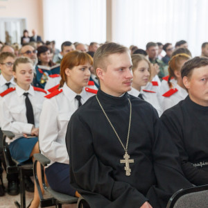 20171121 205 Рождественские чтения Церковь и Казачество Казачий университет Омск IMG_0697