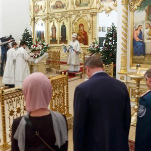 180106 253 Рождество Собор Рождества Христова Омск митр. Владимир (Иким) IMG_4643