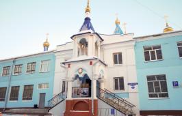 В канун праздника Обрезания Господня митрополит Владимир посетил храм иконы Божией Матери «Знамение»