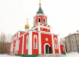 Митрополит Владимир поздравил с престольным праздником прихожан храма святителя Василия Великого