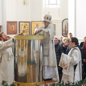 180119 037 Крещение Господа Собор Успения Омск митр. Владимир (Иким) IMG_9246