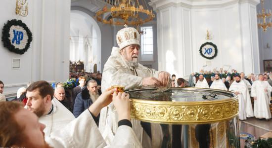 180119 041 Крещение Господа Собор Успения Омск митр. Владимир (Иким) IMG_9260