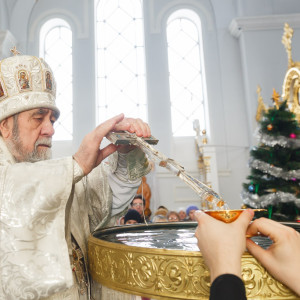 180119 042 Крещение Господа Собор Успения Омск митр. Владимир (Иким) IMG_9266
