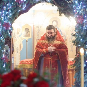 180125 004 Литургия и мероприятия Храм св мц Татианы Омск Владимир (Иким) IMG_0263