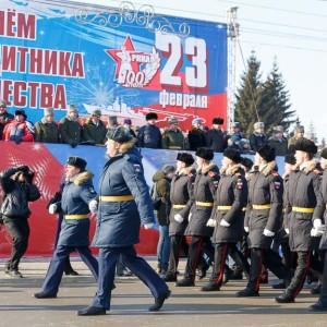180223 215 Военный Парад Соборная площадь Омск митр. Владимир (Иким) IMG_4037