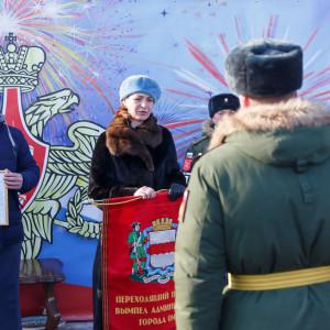 180223 224 Военный Парад Соборная площадь Омск митр. Владимир (Иким) IMG_4153