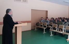 Состоялась встреча с педагогическим коллективом и родительской общественностью Омской гимназии № 12