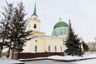 180302 004 Встреча Никольский Казачий Собор Омск IMG_5419