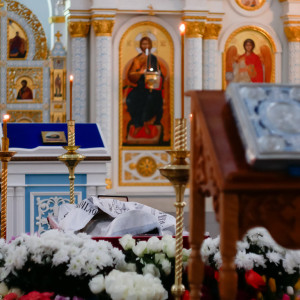 180309 003 Чин отпевания и погребение протоиерея Александра Горбунова Ачаир _1200113
