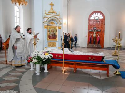 180309 007 Чин отпевания и погребение протоиерея Александра Горбунова Ачаир _1200147