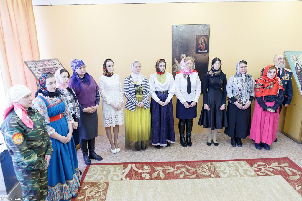 180310 005 Клятва Казачек и Атамана Первый казачий университет Омск IMG_5565