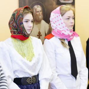 180310 007 Клятва Казачек и Атамана Первый казачий университет Омск IMG_5568
