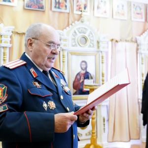 180310 011 Клятва Казачек и Атамана Первый казачий университет Омск IMG_5580