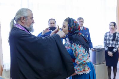 180310 012 Клятва Казачек и Атамана Первый казачий университет Омск IMG_5582