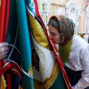180310 014 Клятва Казачек и Атамана Первый казачий университет Омск IMG_5593