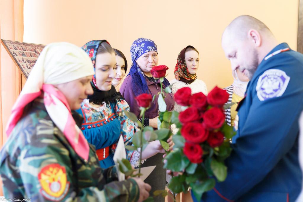 180310 018 Клятва Казачек и Атамана Первый казачий университет Омск IMG_5607