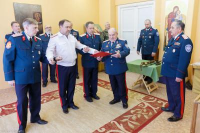 180310 024 Клятва Казачек и Атамана Первый казачий университет Омск IMG_5629