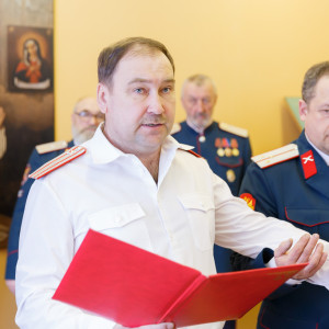 180310 025 Клятва Казачек и Атамана Первый казачий университет Омск IMG_5633