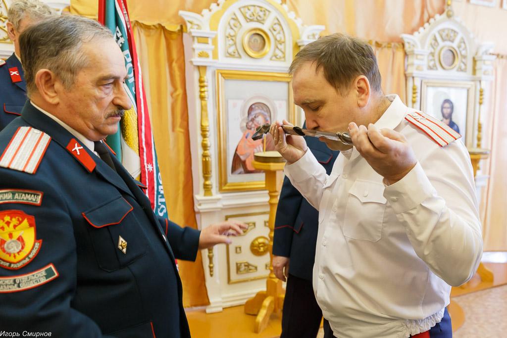 180310 028 Клятва Казачек и Атамана Первый казачий университет Омск IMG_5644
