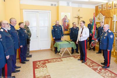 180310 030 Клятва Казачек и Атамана Первый казачий университет Омск IMG_5649