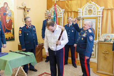 180310 031 Клятва Казачек и Атамана Первый казачий университет Омск IMG_5652