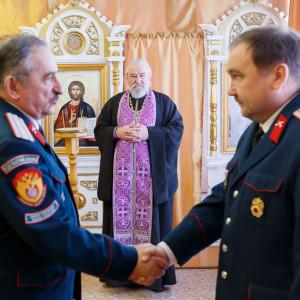 180310 032 Клятва Казачек и Атамана Первый казачий университет Омск IMG_5660