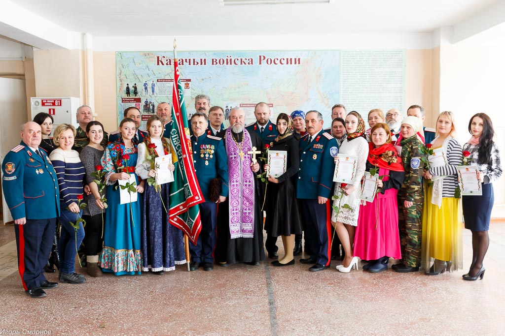 180310 033 Клятва Казачек и Атамана Первый казачий университет Омск IMG_5663