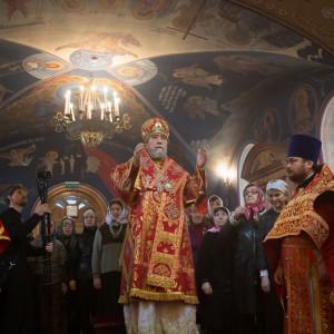 180412 010 Литургия Никольский монастырь Большекулачье митр. Владимир (Иким) IMG_2812