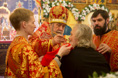 180412 036 Литургия Никольский монастырь Большекулачье митр. Владимир (Иким) IMG_2908