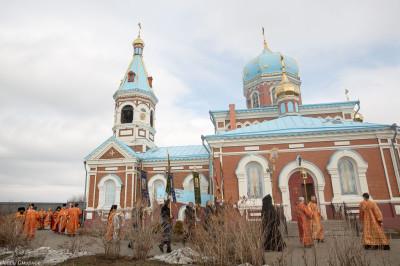 180412 040 Литургия Никольский монастырь Большекулачье митр. Владимир (Иким) IMG_2926