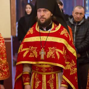 180412 060 Литургия Никольский монастырь Большекулачье митр. Владимир (Иким) IMG_2997