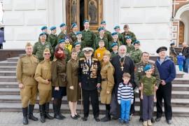 180513 219 Встреча с ветераном ВОВ Смирновым ИИ Собор Успения Омск IMG_7686