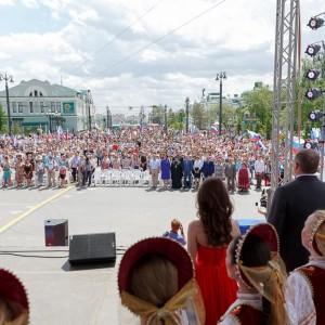 180612 045 День России Площадь Победы Омск митр. Владимир (Иким) IMG_2421