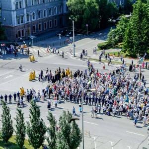 180729 046 Крестный ход Собор Успения Омск митр. Владимир (Иким) 2049